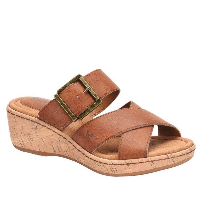 b.o.c. Kay Cork Wedge Slide Sandal