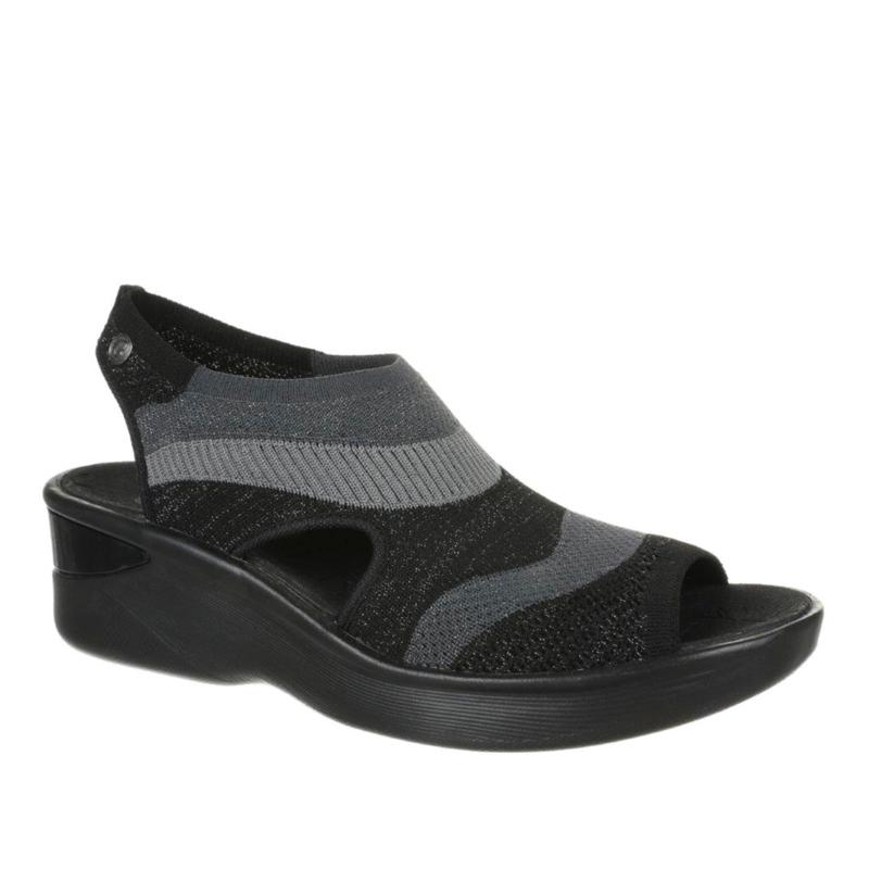 Bzees Seabreeze Washable Knit Wedge Sandal