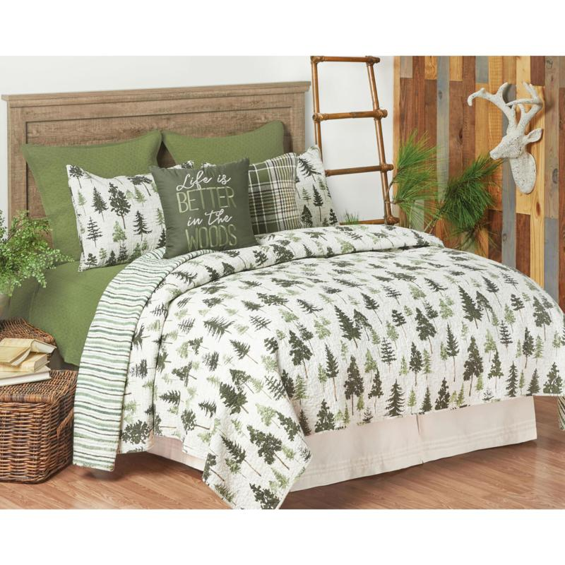 C&F Home Everett Quilt Set - King