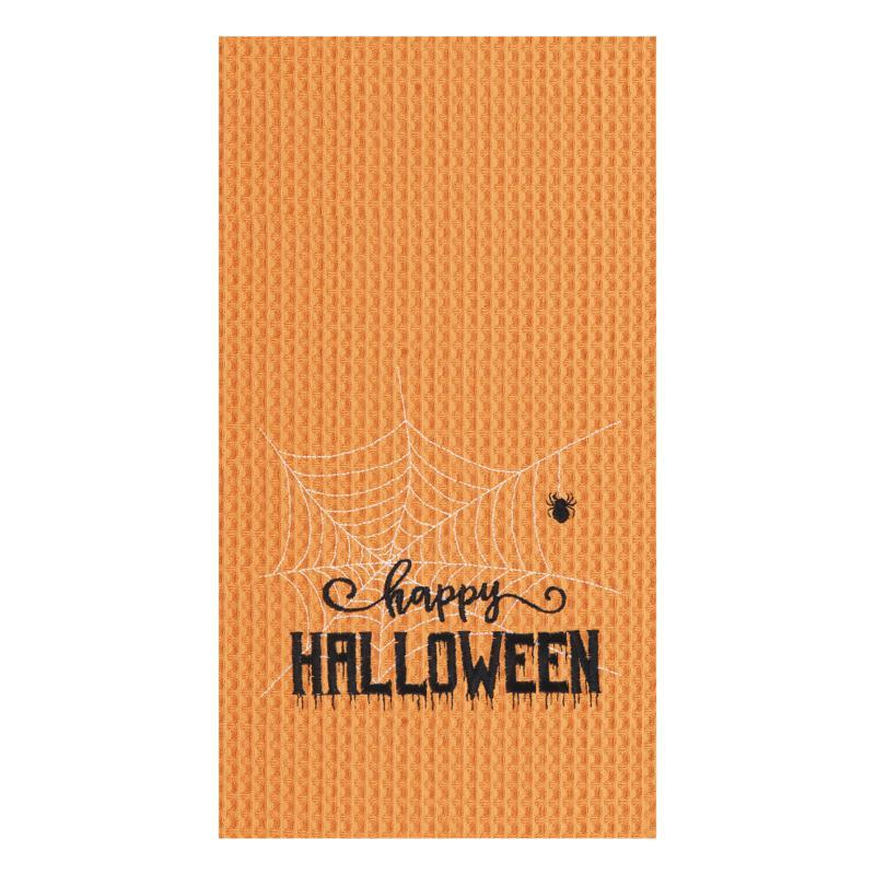 C&F Home Happy Halloween Web Towel S-2