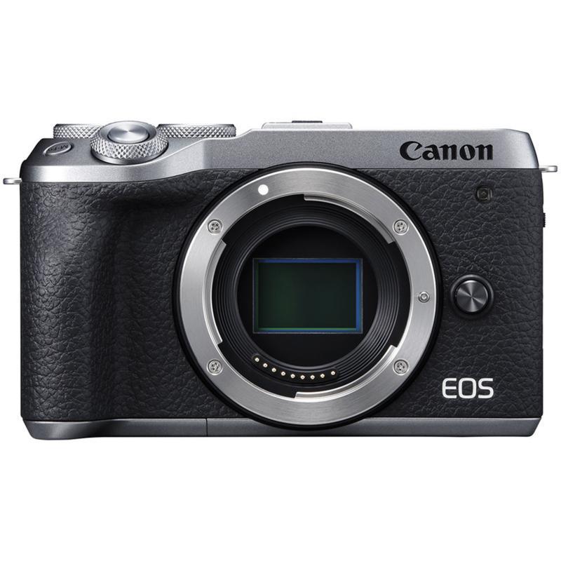 Canon EOS M6 Mark II Mirrorless Silver Digital Camera Body