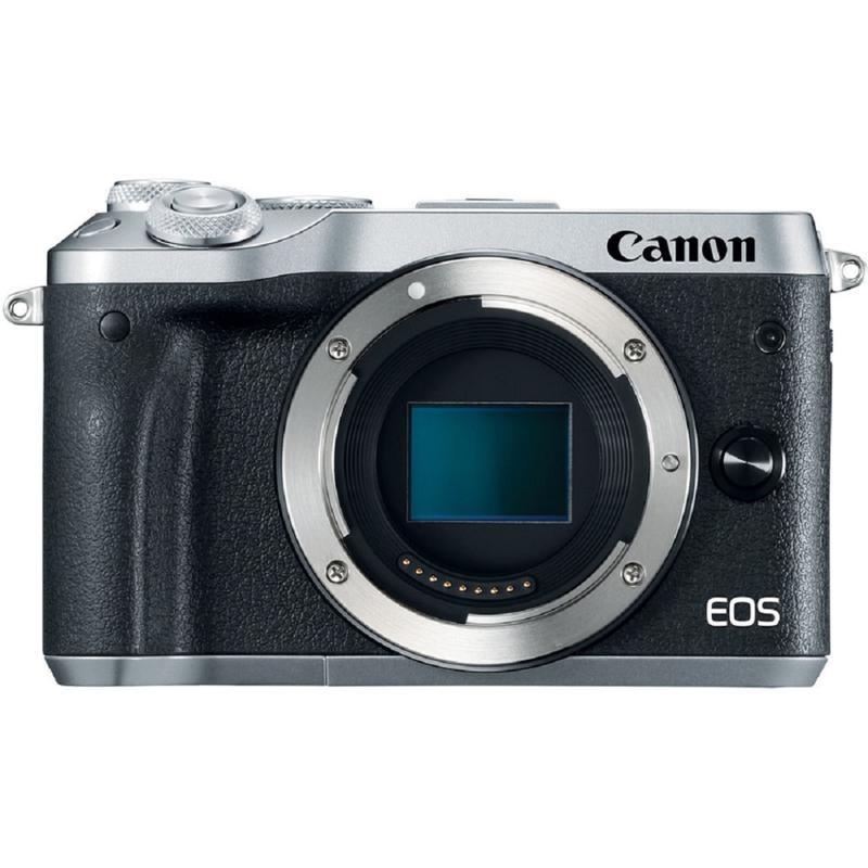 Canon EOS M6 Mirrorless Silver Digital Camera Body