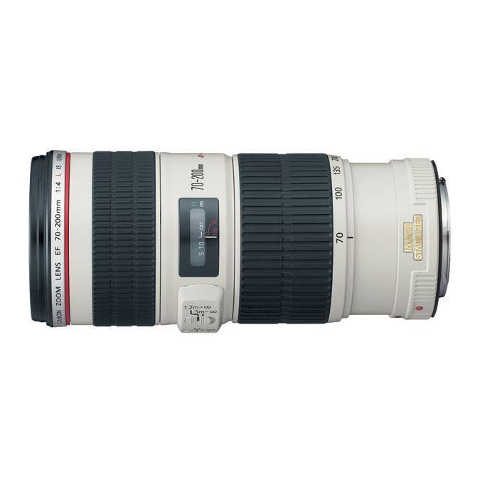 Canon Zoom Telephoto Ef 70-200mm F4l Is Usm Autofocus Lens
