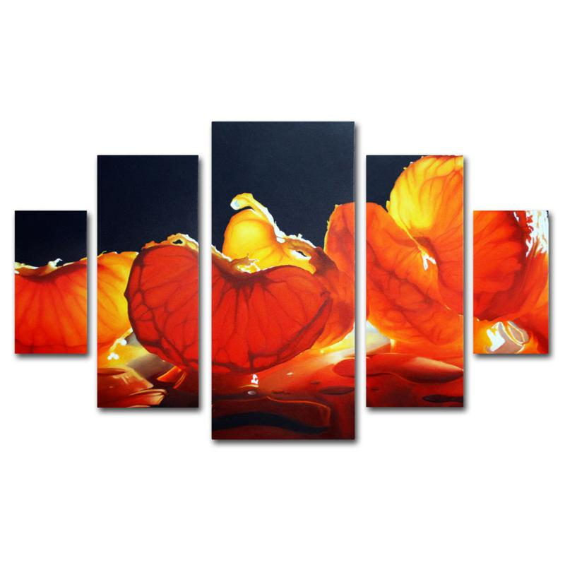 Cecile Baird 'Mandarin Orange' Art Collection