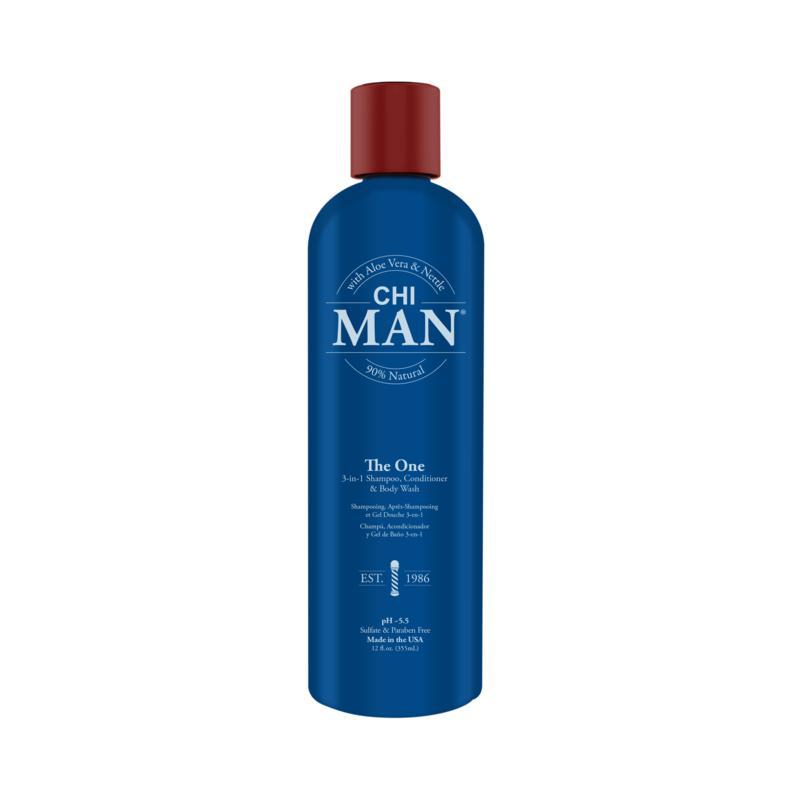 CHI Man The One 3-In-1 Shampoo, Conditioner, Body Wash 12 oz.