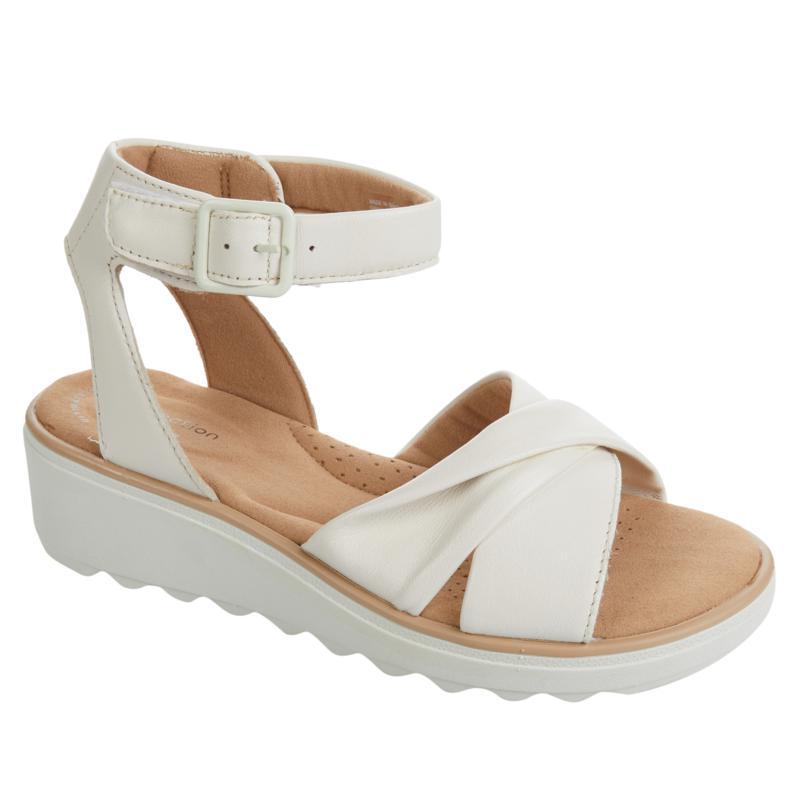 Clarks Collection Jillian Bella Leather Sandal