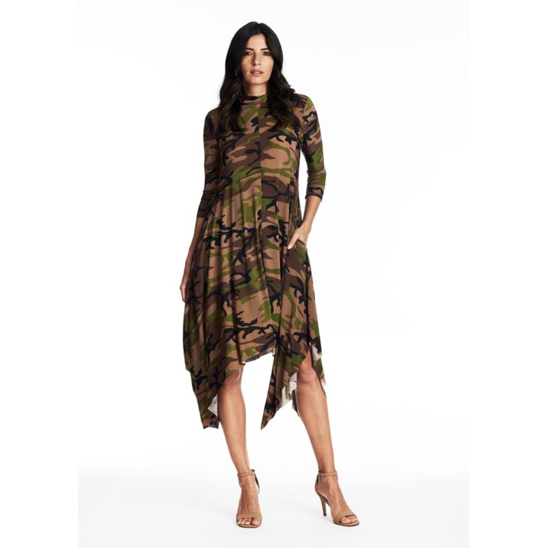Coldesina Sandi 3/4 Sleeve Perfection Dress