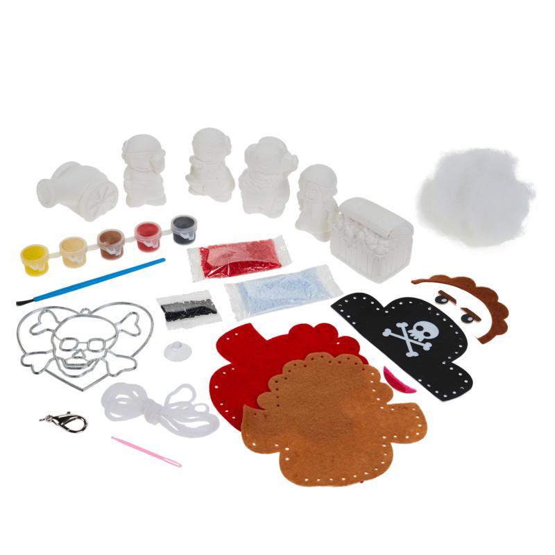 Colorbok Pirate Kids Craft Bundle