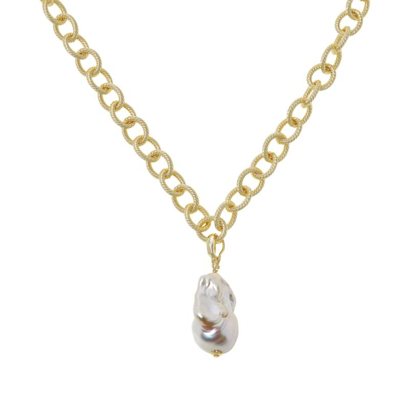 Connie Craig Carroll Jewelry Lauren Cultured Pearl Pendant with Chain