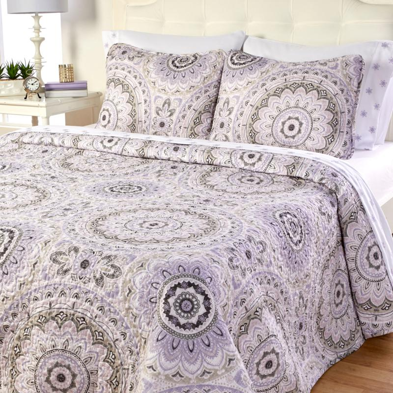 Cottage Collection 7-piece Quilt and Sheet Set