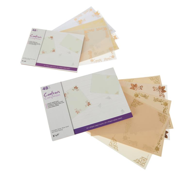 Crafter's Companion Christmas Vellum and Card Inserts