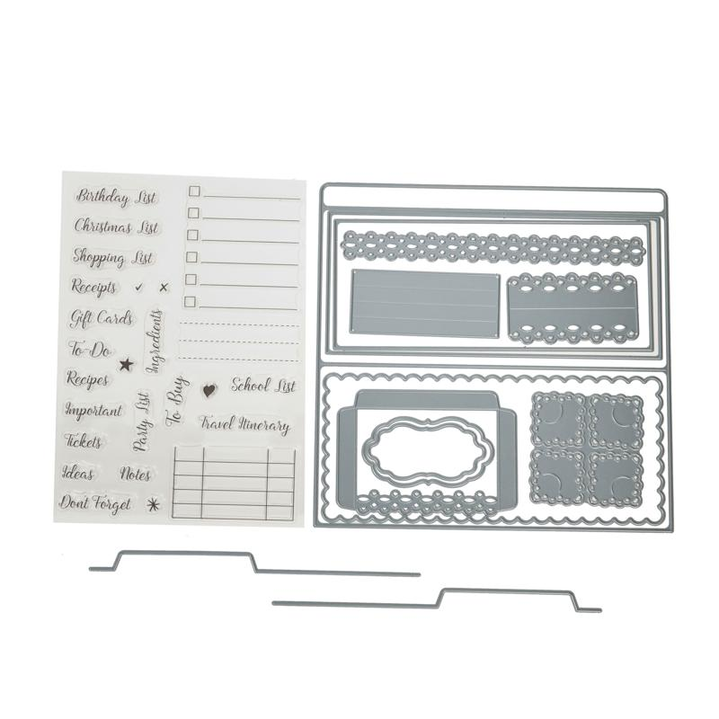 Crafter's Companion Gemini Ultimate Organizer Stamps and Dies