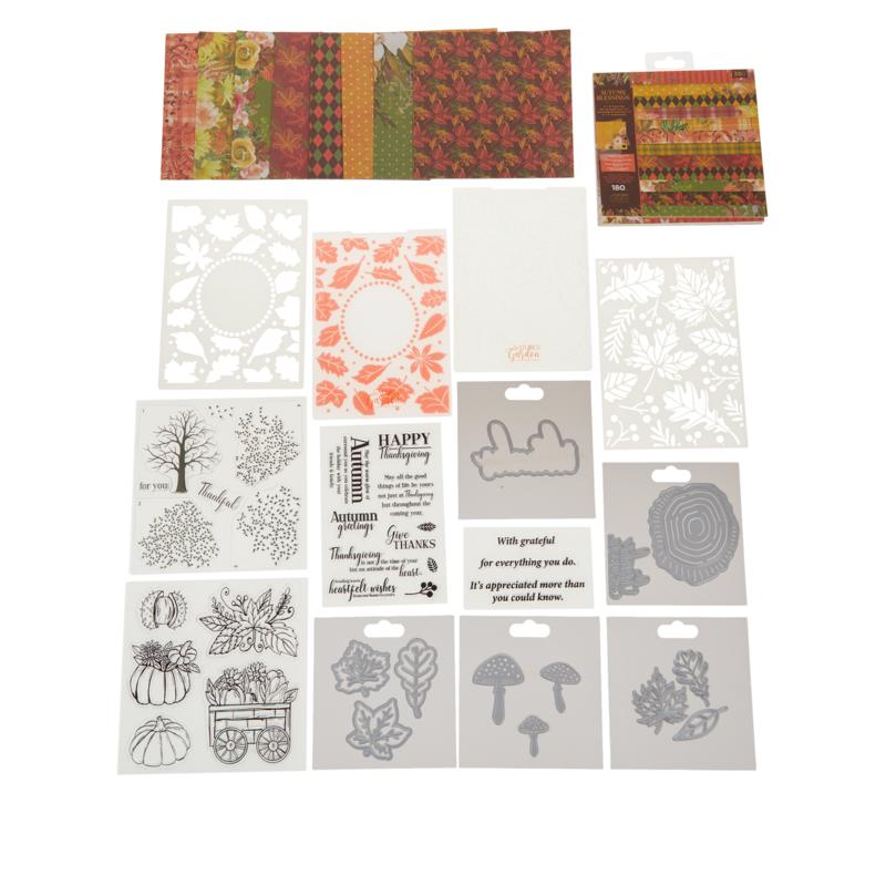 Crafter's Companion Nature Garden Autumn Blessing Kit