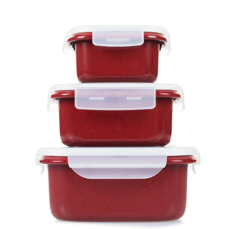 Curtis Stone 6-piece Dura-Bake® Nonstick Food Storage Set