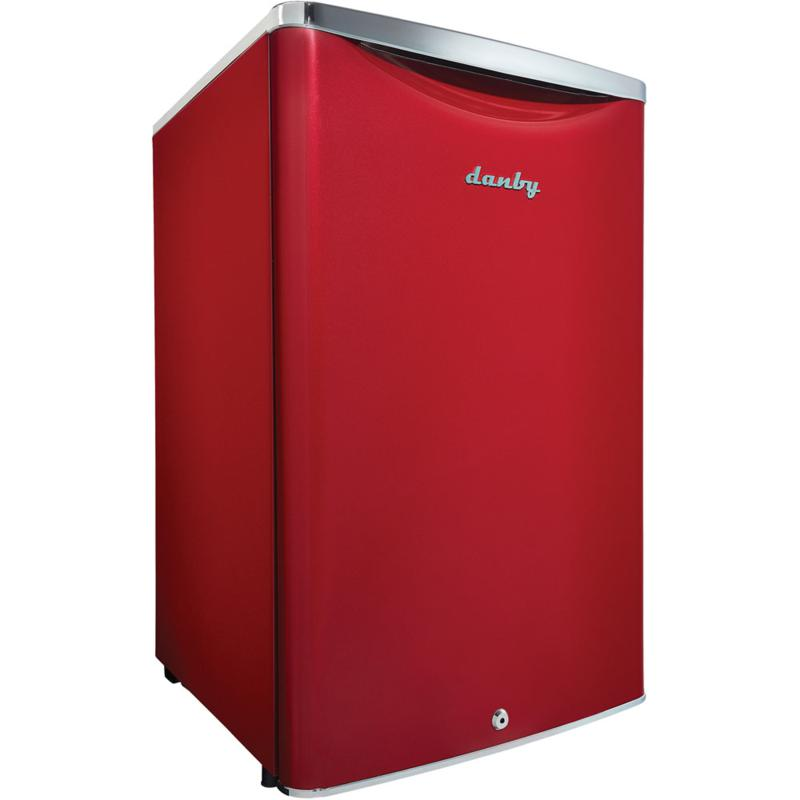 Danby 4.4 CF Classic Compact Refrigerator - Scarlet Red