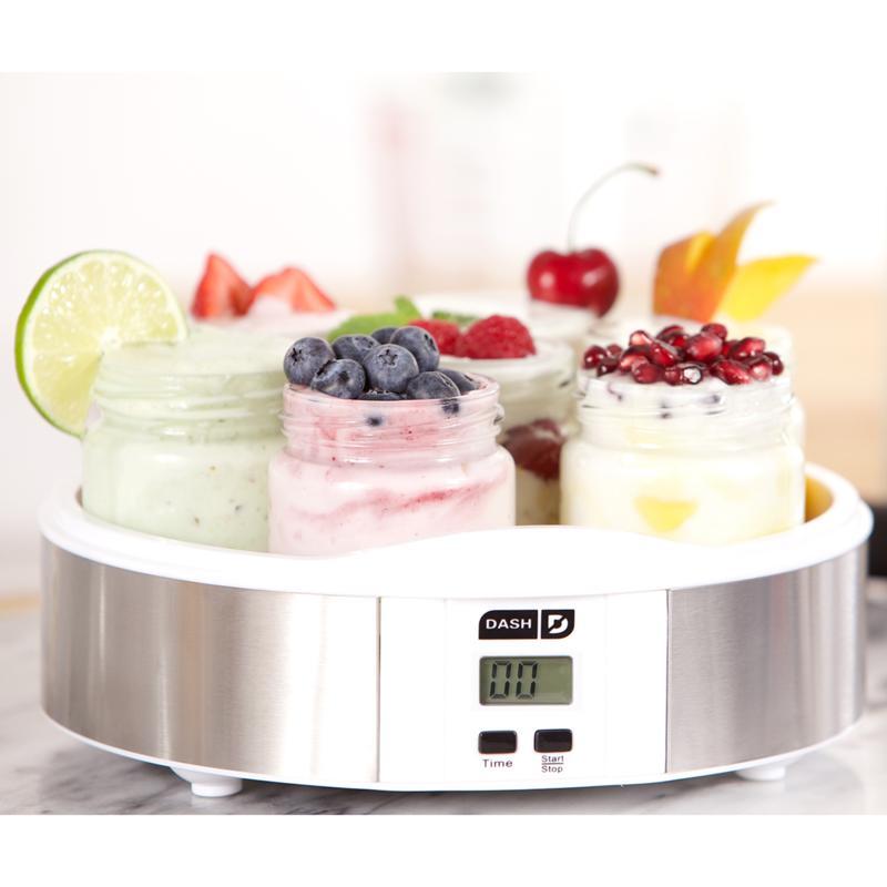 DASH 7-Jar Yogurt Maker with Recipes