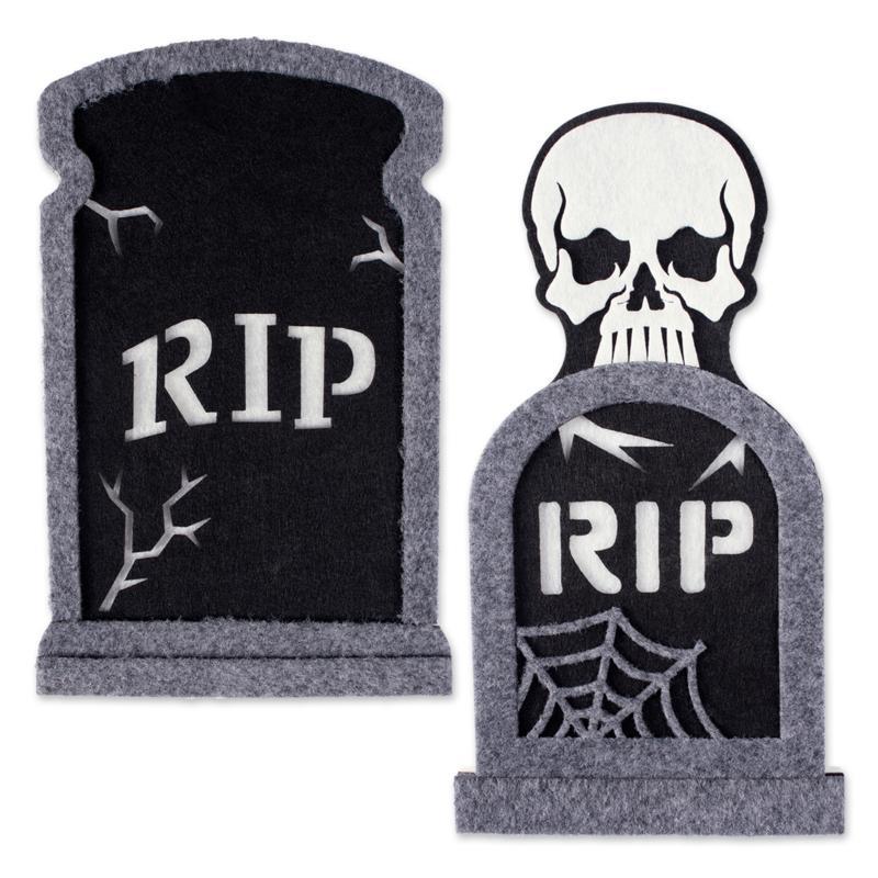 Design Imports 2-piece Foam Tombstone Set