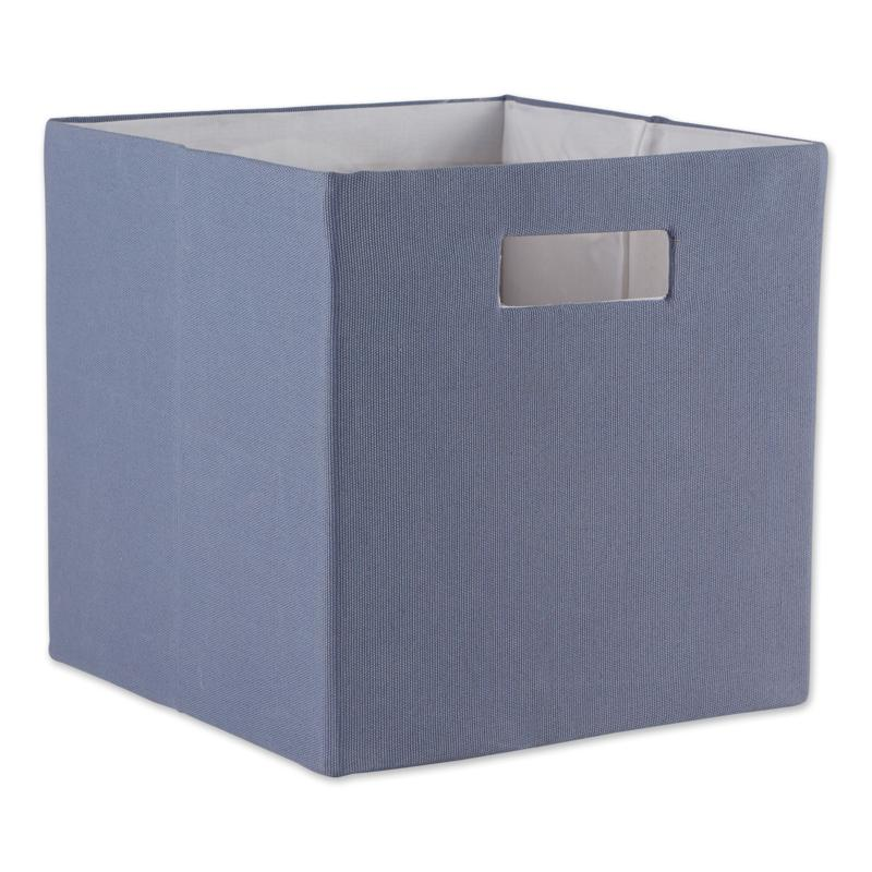 "Design Imports Solid 11"" Square Cube"