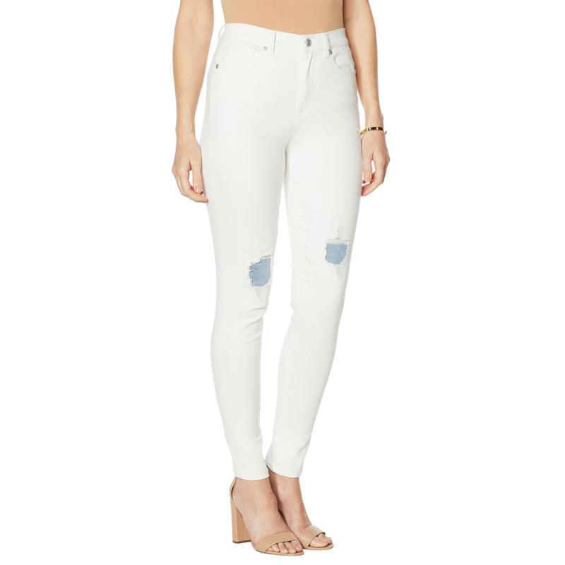 DG2 by Diane Gilman Virtual Stretch Crosshatch Ultra Skinny Jean