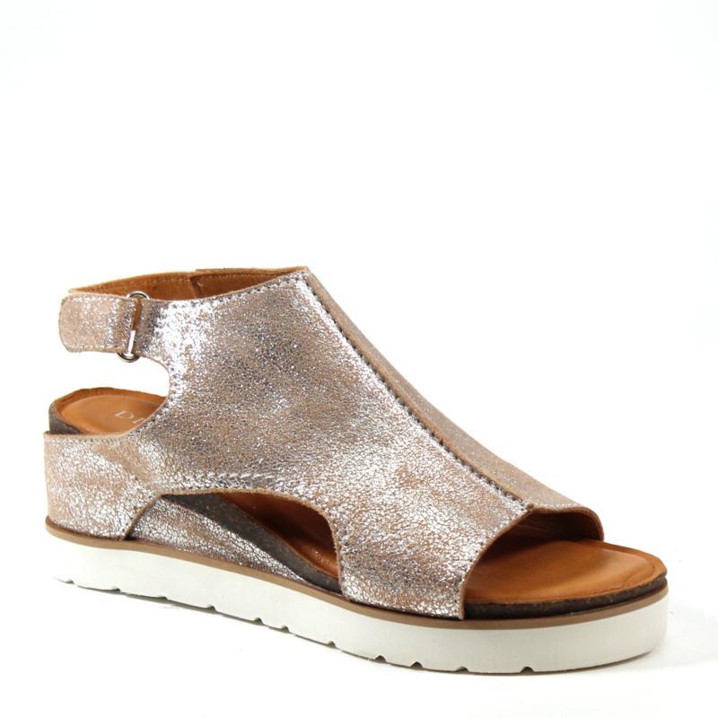 Diba True Get Along Leather Wedge Sandal
