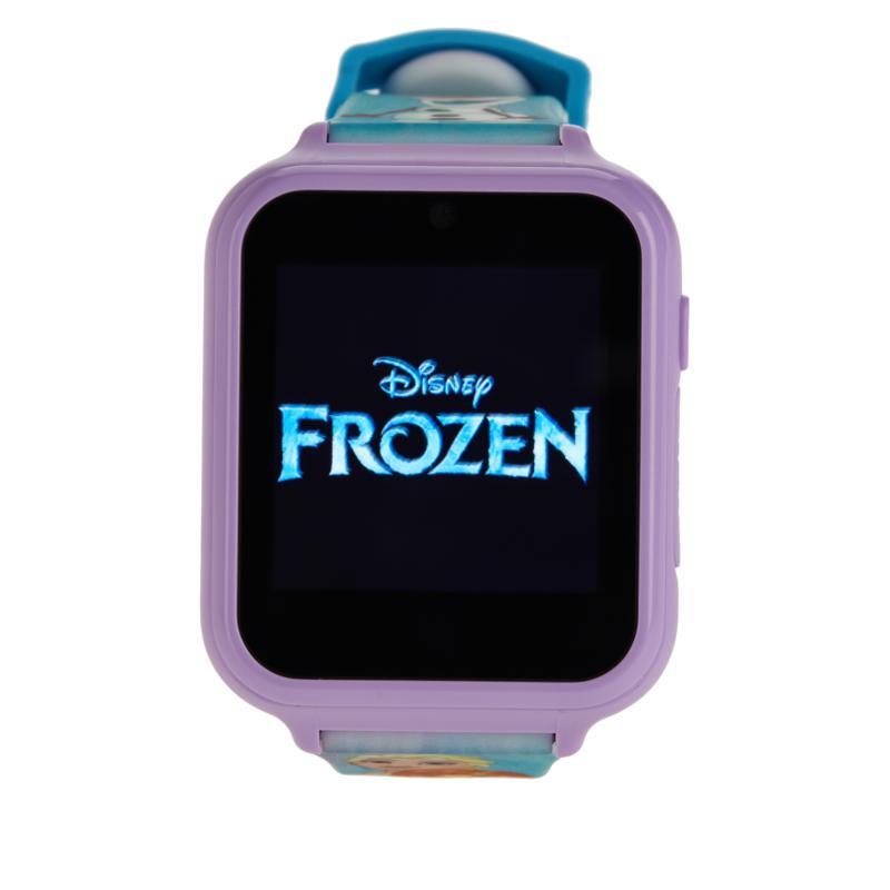 Disney Frozen Kids' Blue Interactive Smart Watch