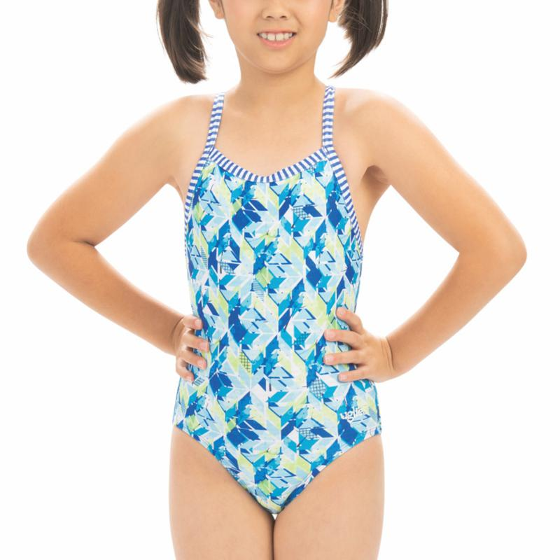 Dolfin Uglies Girl's Printed 1-piece Swimsuit