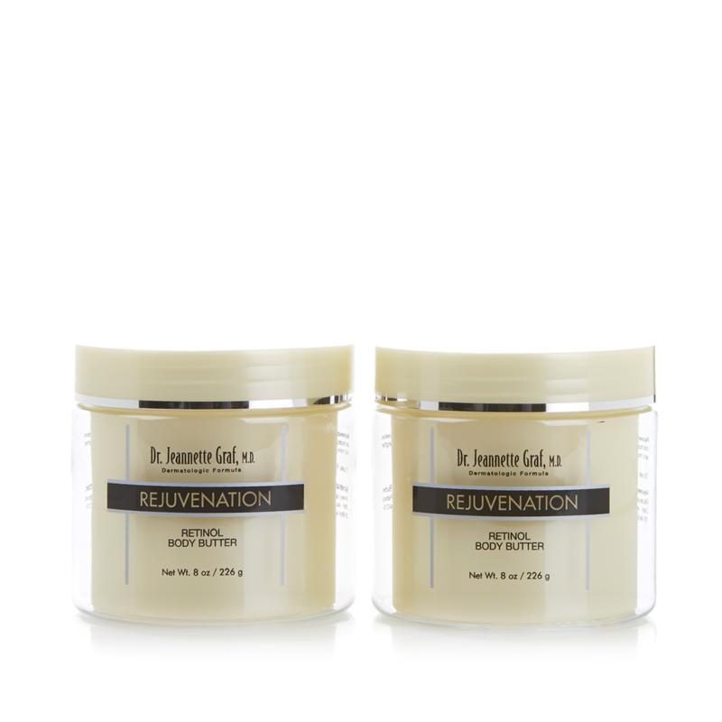Dr. J. Graf M.D. Rejuvenation Retinol Body Butter 2-pack