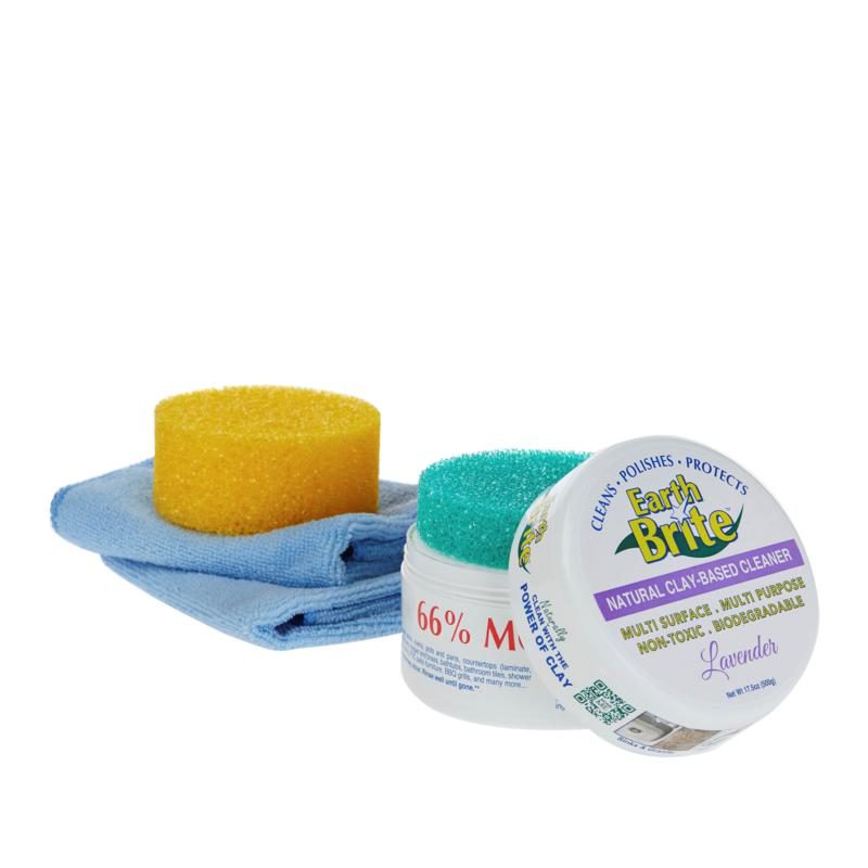 Earth Brite 4-piece All-Purpose Cleaning Kit