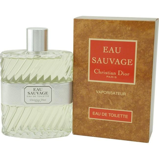Eau Sauvage by Christian Dior EDT Spray for Men 1.7 oz.