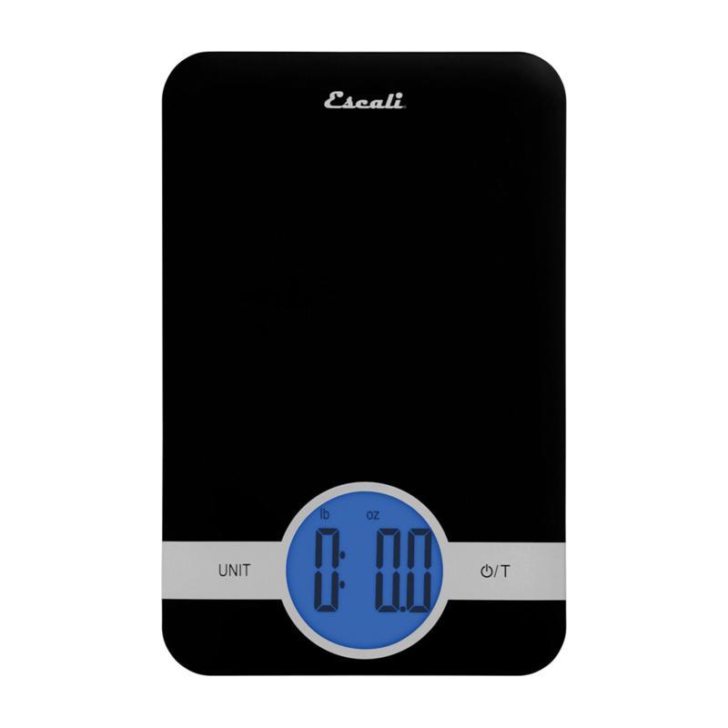 Escali C115B Ciro Digital Scale - Black