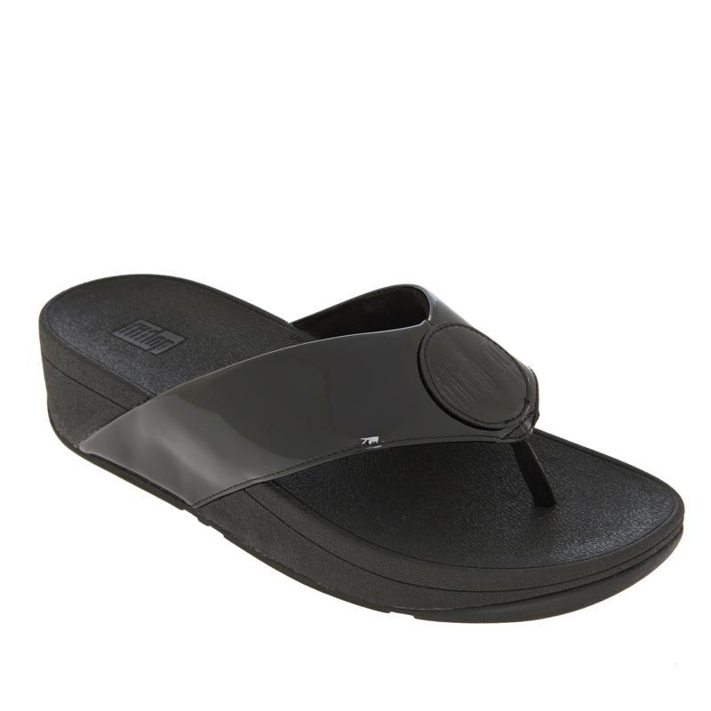 FitFlop Demelza Logo Toe Post Sandal