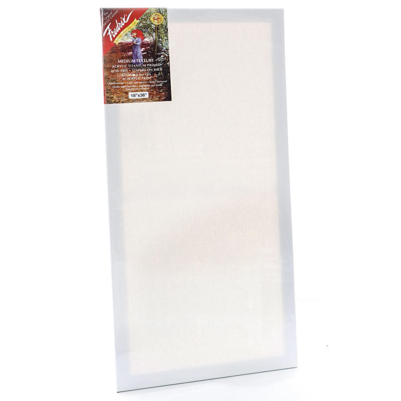 """Frederix Red Label Stretched Cotton Canvas - 18"""" x 36"""""""