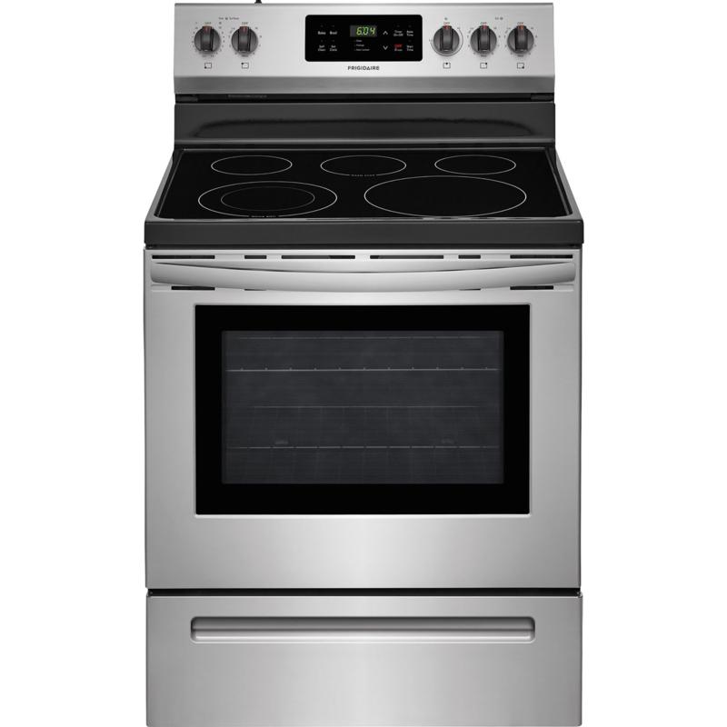Frigidaire 30 In. Freestanding Electric Range - Stainless Steel