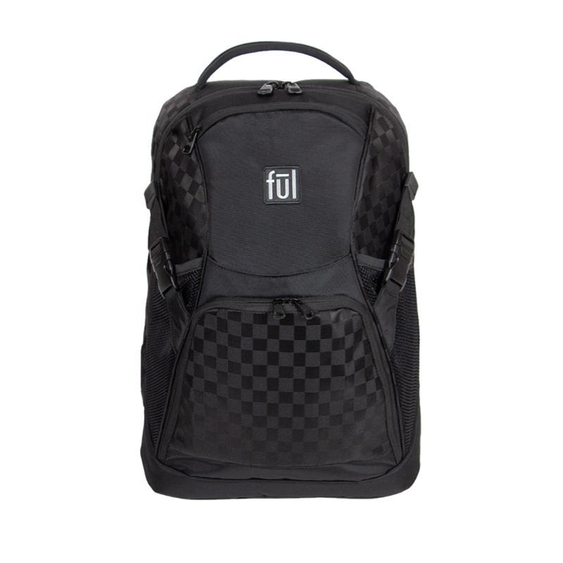 "FUL Marlon 19"" Laptop Backpack - Black"