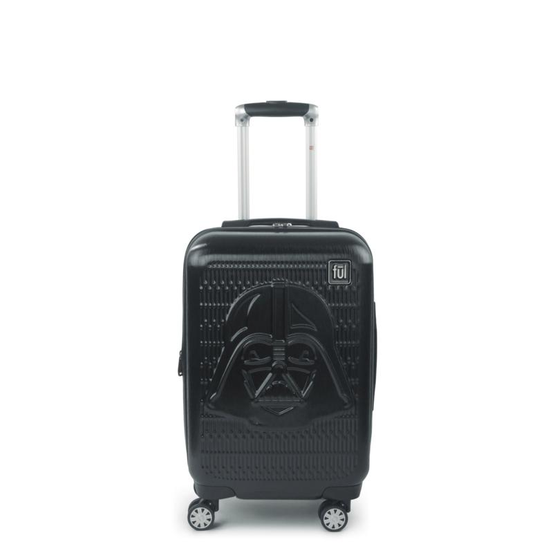 FUL Star Wars Darth Vader Embossed 21-inch Spinner Suitcase
