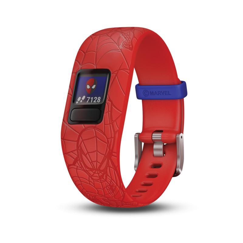 Garmin Vivofit Jr. 2 Marvel Spider-Man Fitness Tracker in Red