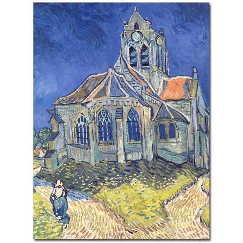 Giclee Print - Church at Auvers-sur-Oise, 1890