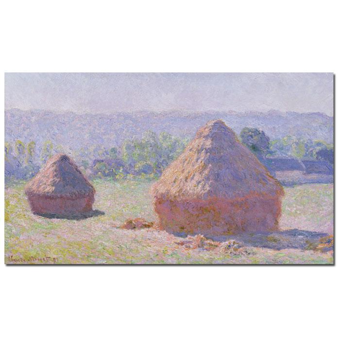 Giclee Print - Grainstacks at End of Summer 1891