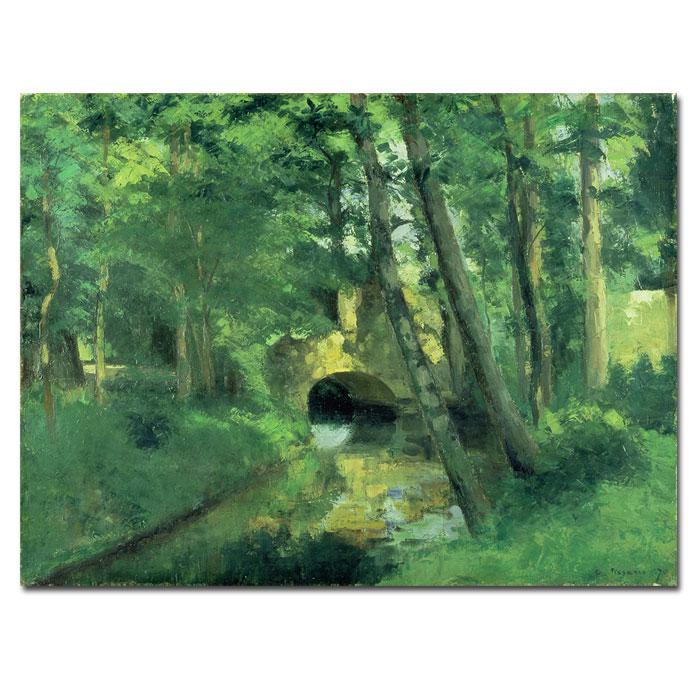 Giclee Print - The Little Bridge - Pontoise 1875 32x24