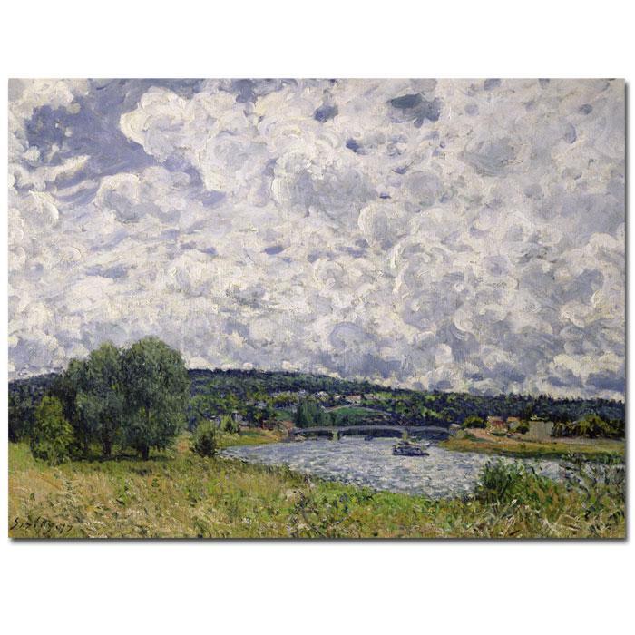 "Giclee Print -  The Seine, Suresnes, 1877 24"" x 18"""