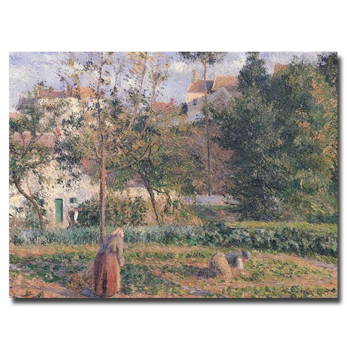 Giclee Print - Vegetable Garden, Pontoise, 1879