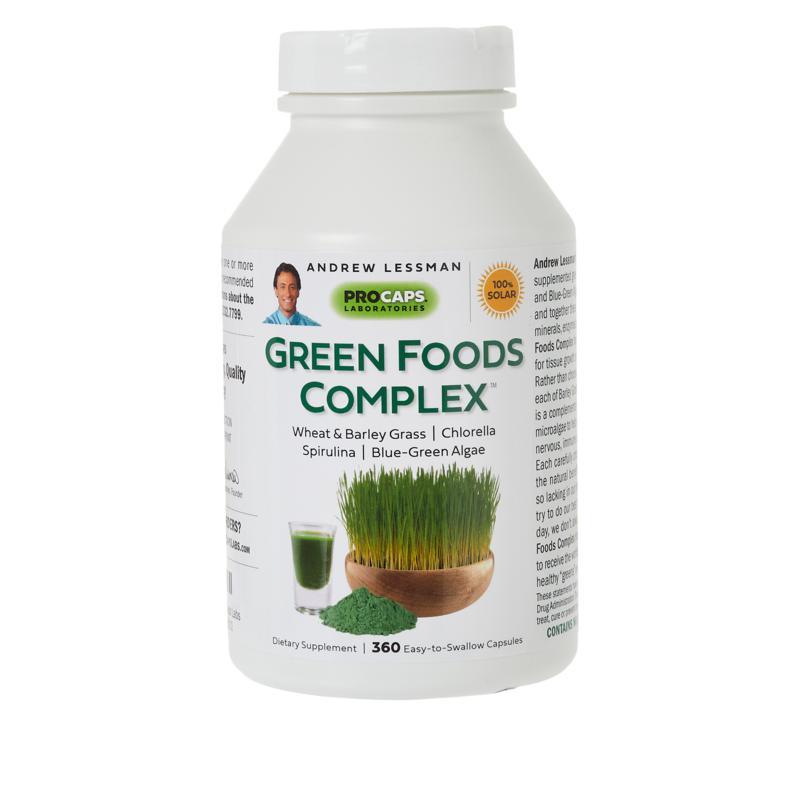 Green Foods Complex - 360 Capsules