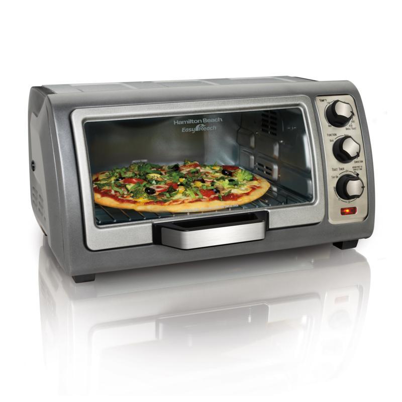 Hamilton Beach® Easy Reach® Toaster Oven with Roll-Top Door