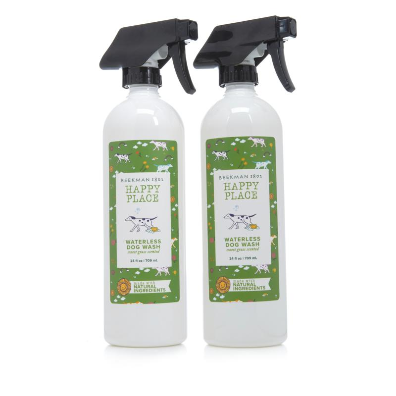 Happy Place Waterless Shampoo for Dogs 2-pack