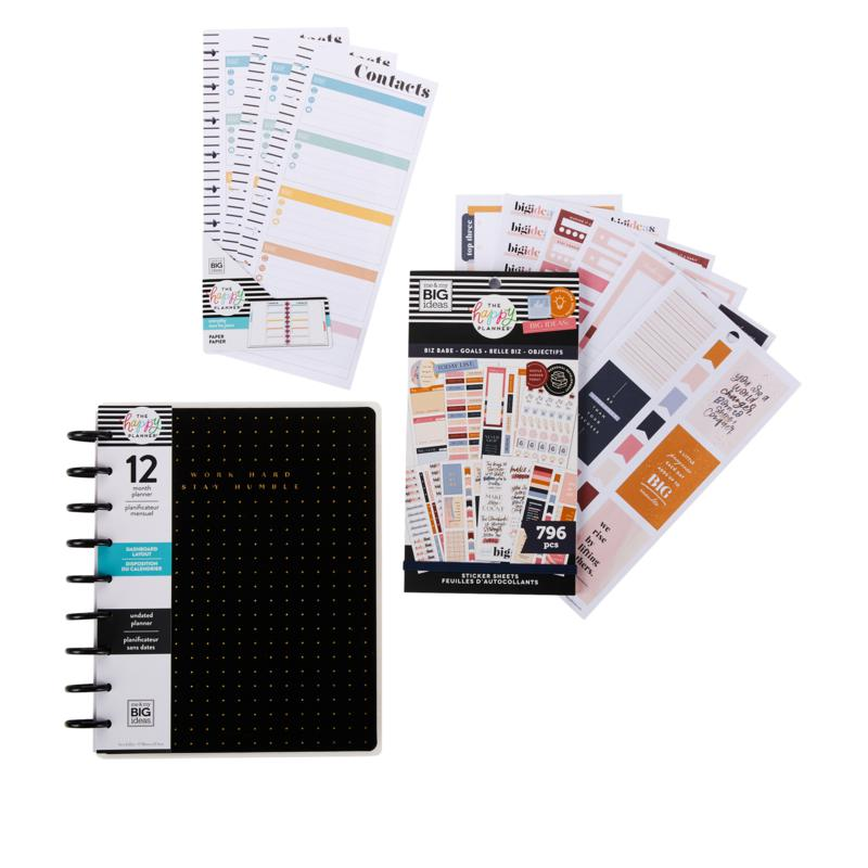 Happy Planner Classic Biz Babe Collection with Planner & Accessories