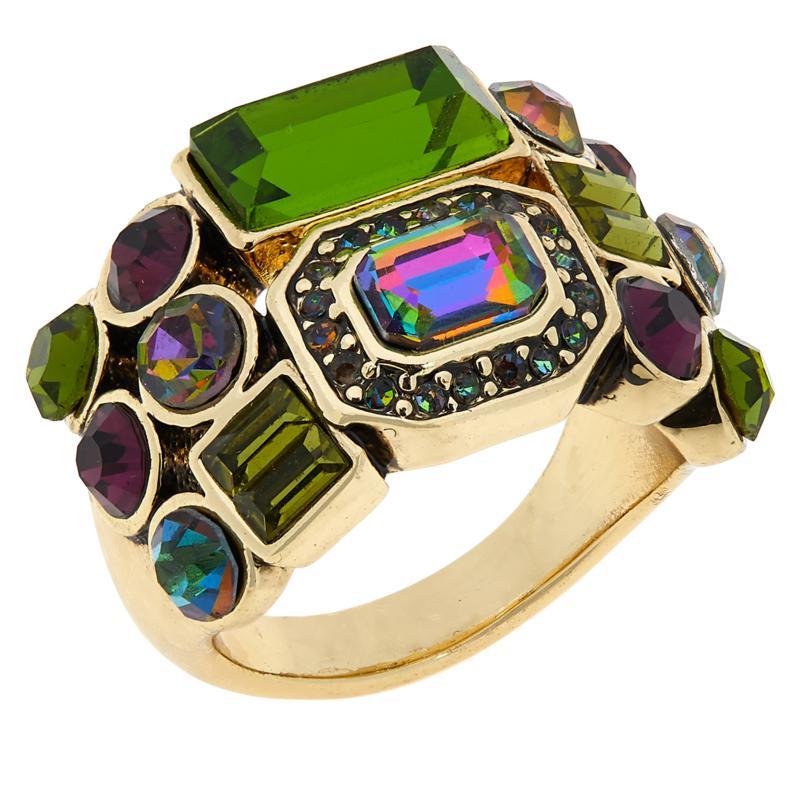 "Heidi Daus ""On-Line"" Multi-Shaped Stone Ring"