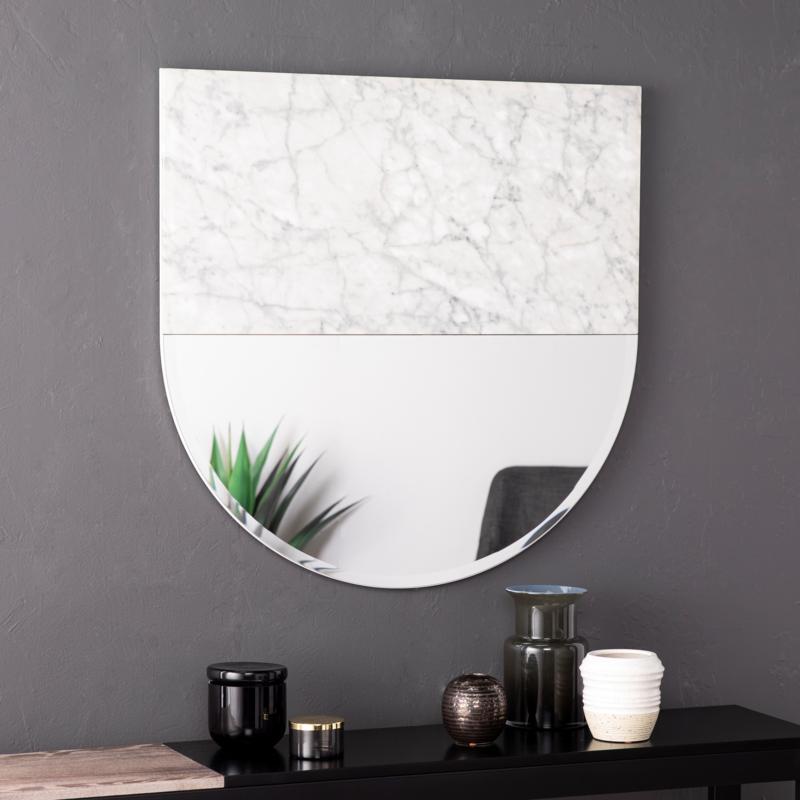 Holly & Martin Bowers Decorative Mirror - White