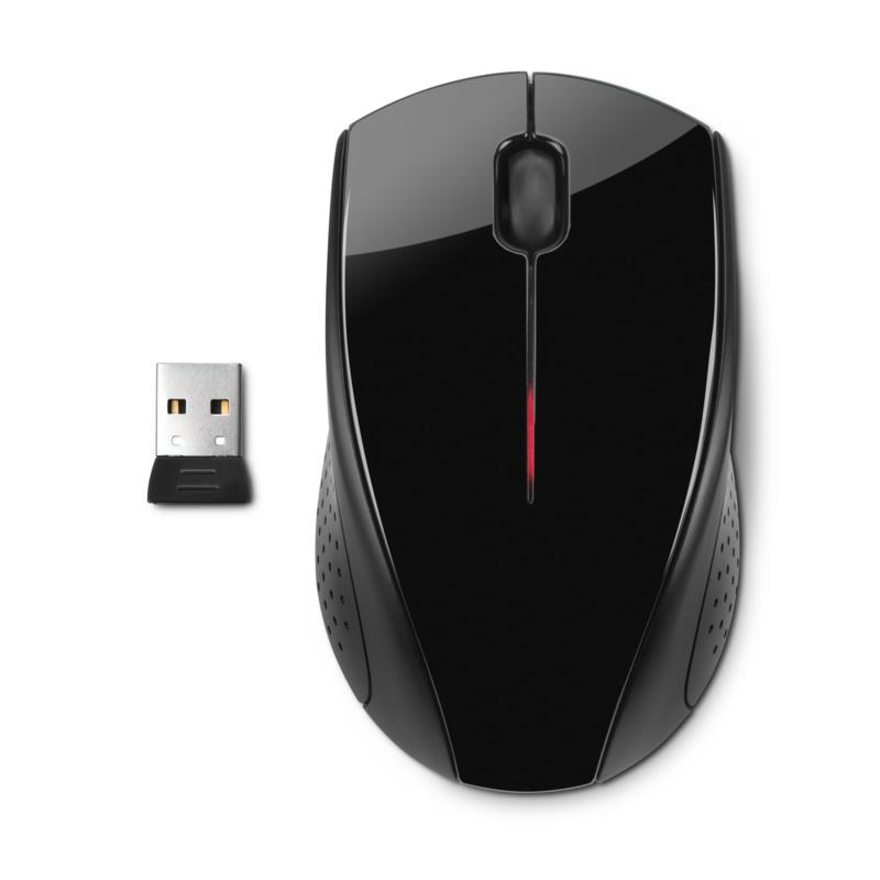 HP Wireless Mouse X3000 in Black