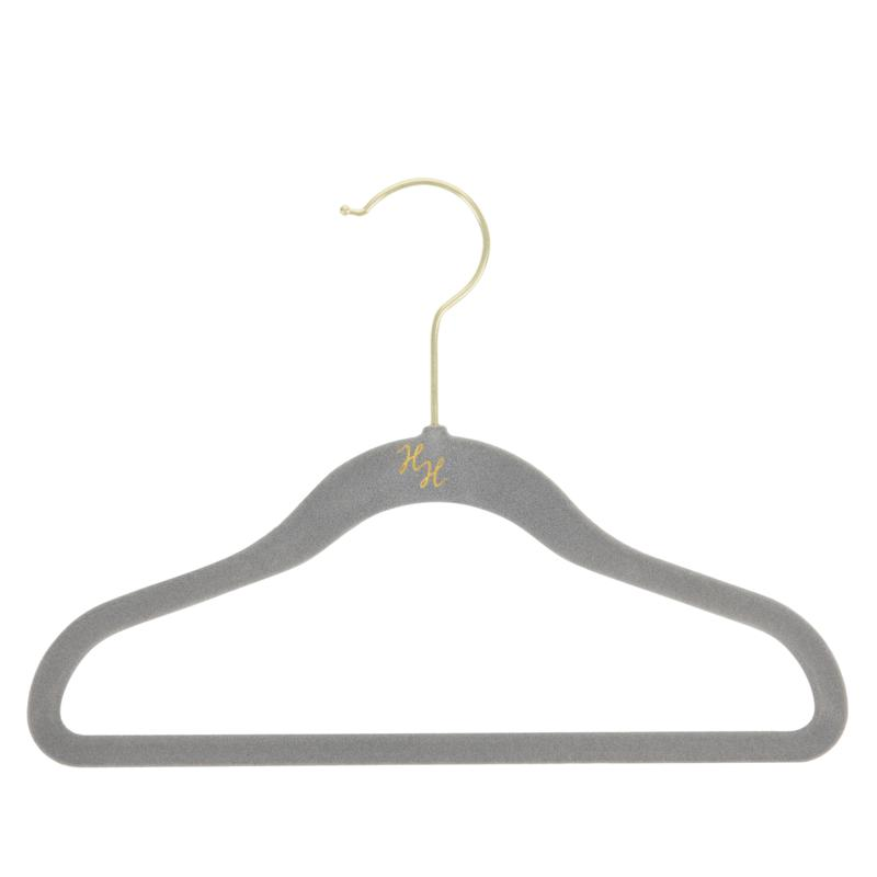 Huggable Hangers 36-pack of Kid's Hangers with Brass Hooks
