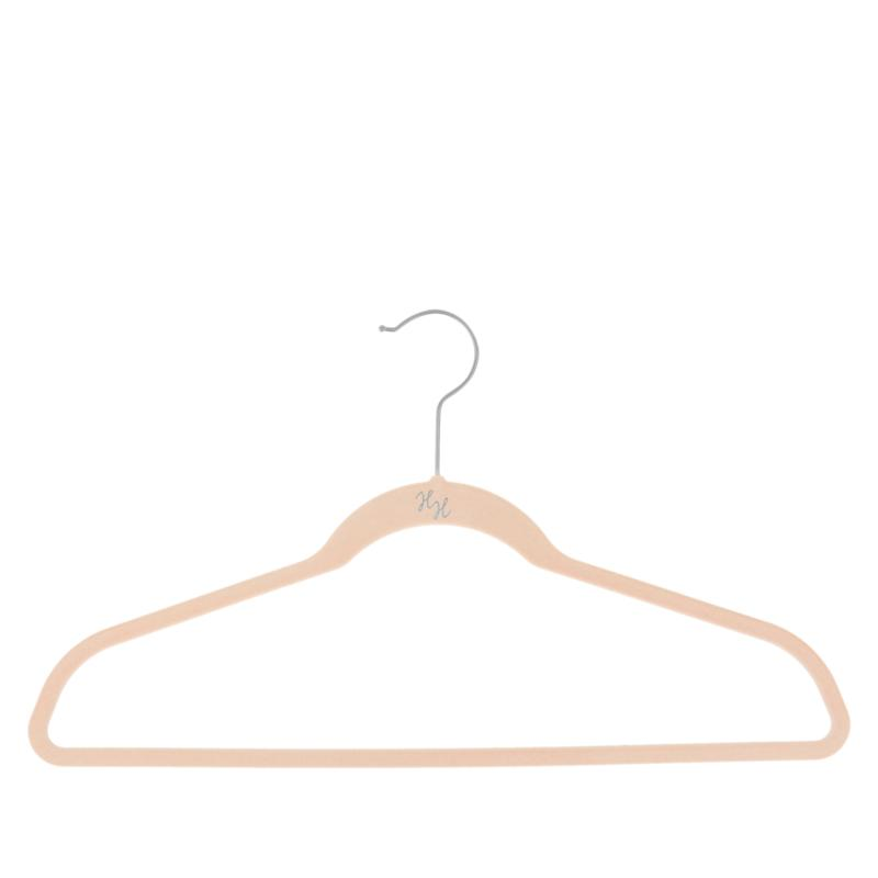 Huggable Hangers 60-pack of Suit Hangers with Chrome Hooks